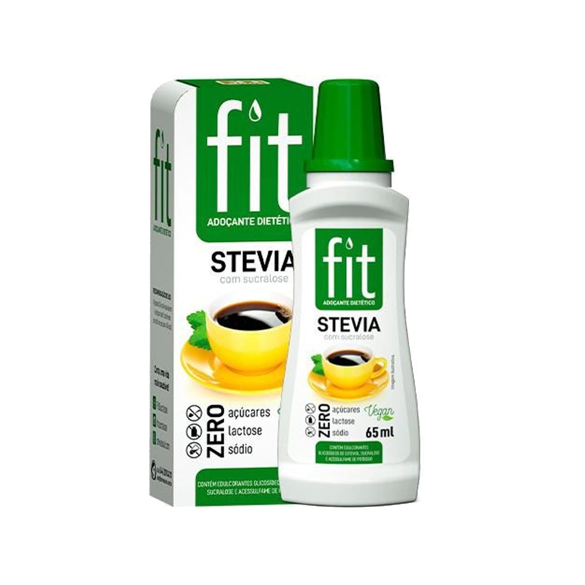 Adoçante Fit Stevia com Sucralose 65ml - Stevita