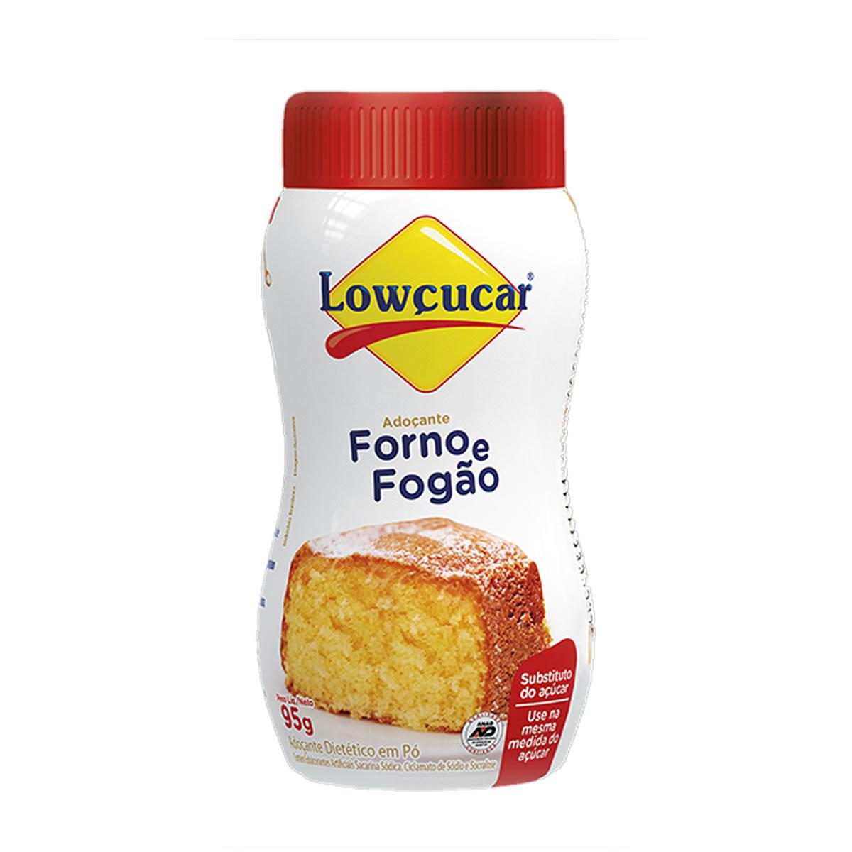 Adoçante Forno e Fogão 95g - Lowçucar