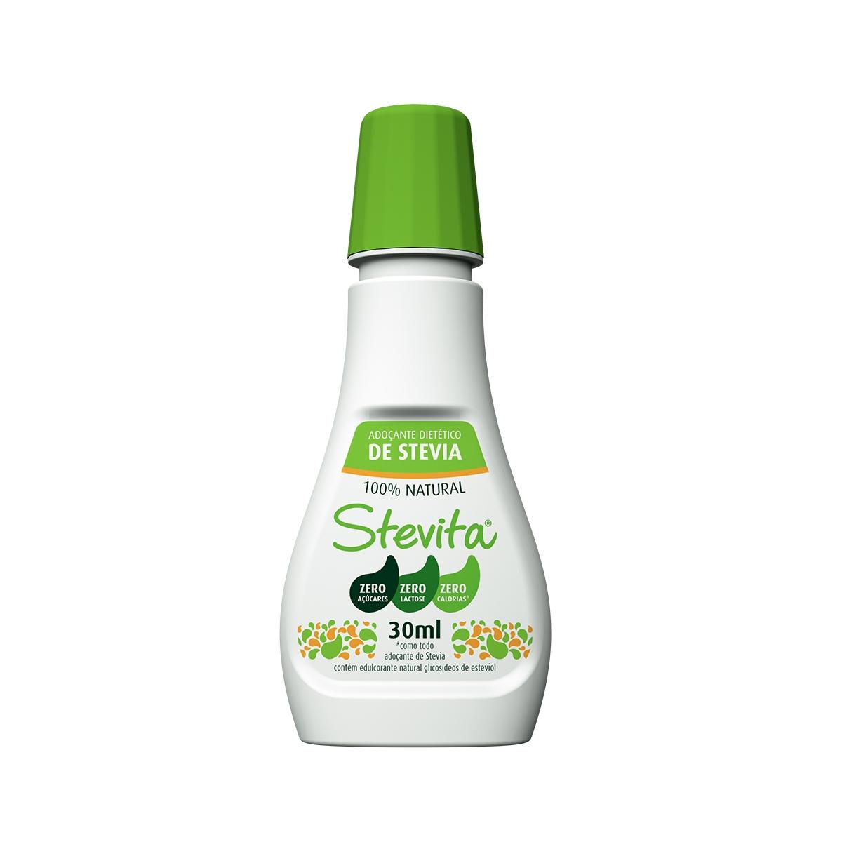 Adoçante só Stevia 30ml - Stevita
