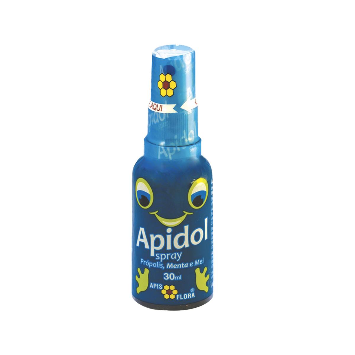 Apidol Spray Sabor Menta 30ml - Apis Flora