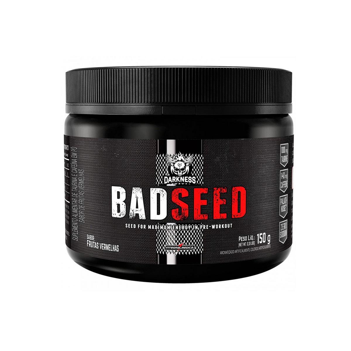 Bad Seed sabor Frutas Vermelhas 150g - Darkness