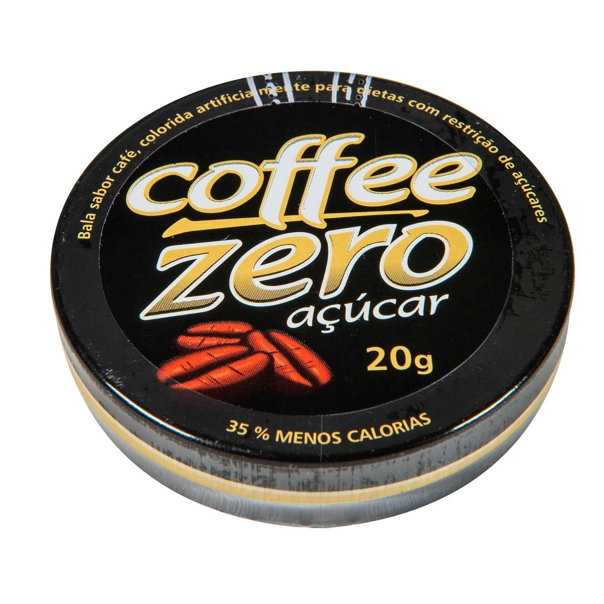 Bala Coffee Zero 20g- Florestal