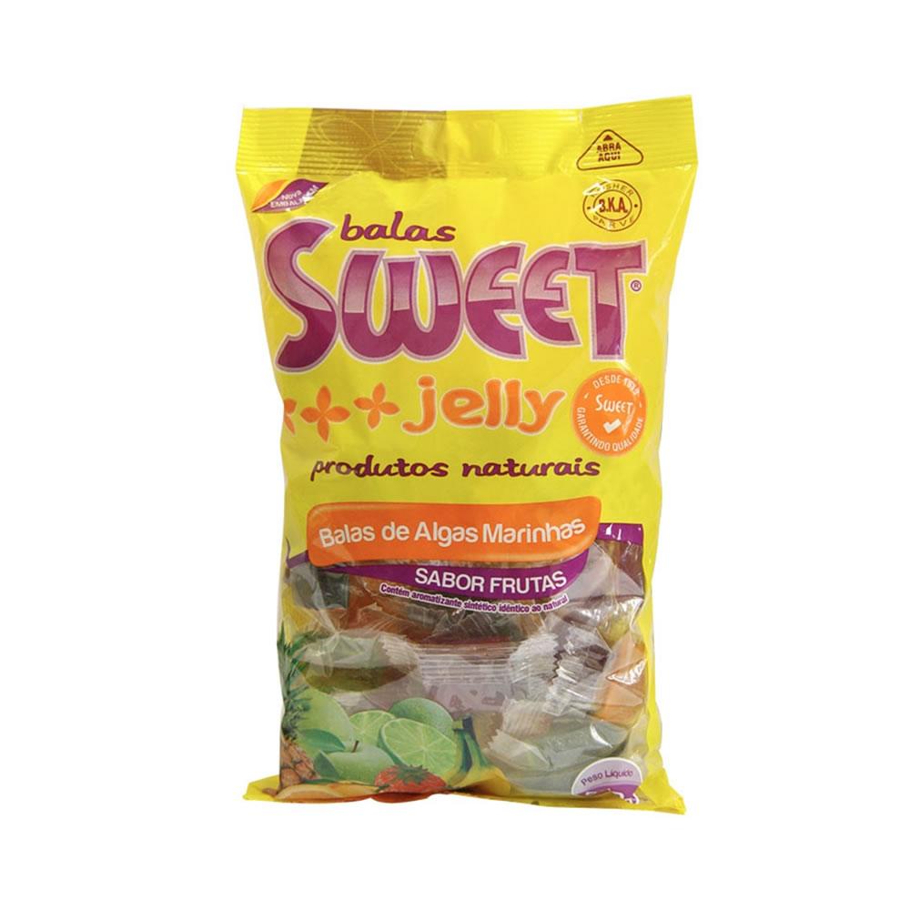 Bala de Algas Marinhas sabor frutas 200g - Sweet Jelly
