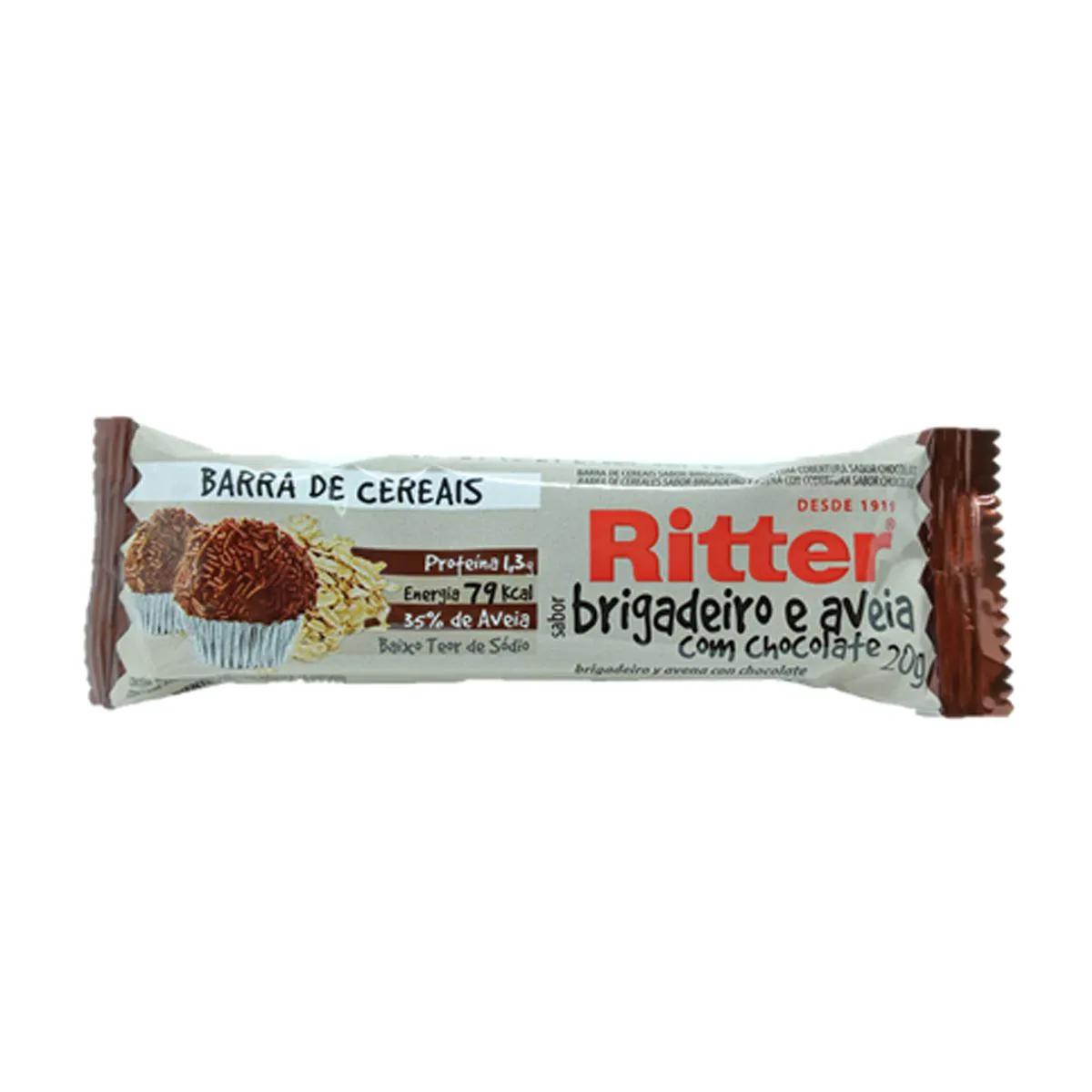 Barra de Cereal Mix Brigadeiro 20g - Ritter