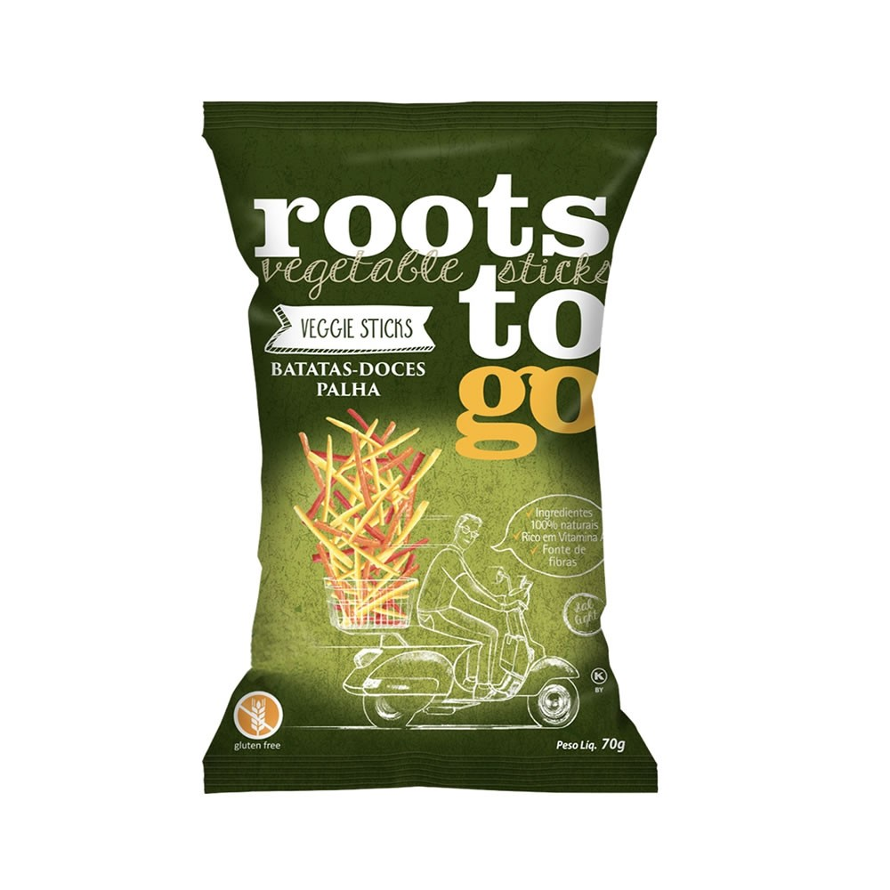 Batatas Doces Palha 70g - Roots To Go