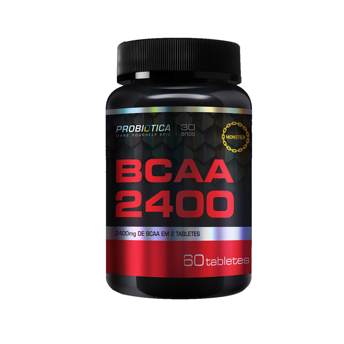 BCAA 2400mg 60 Tabletes - Probiotica