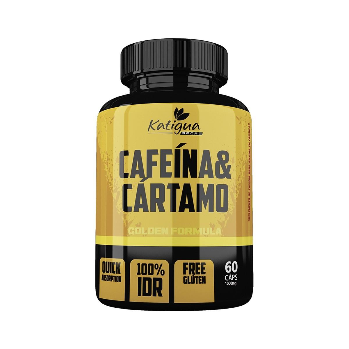 Cafeína e Cártamo 1000mg 60 Cápsulas - Katiguá ****