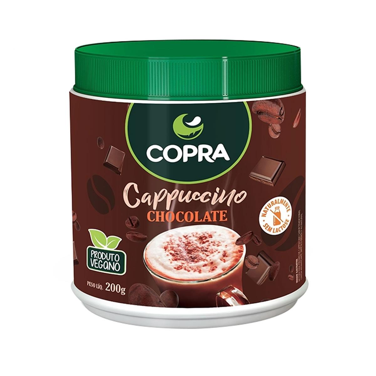 Cappuccino sabor Chocolate 200g - Copra