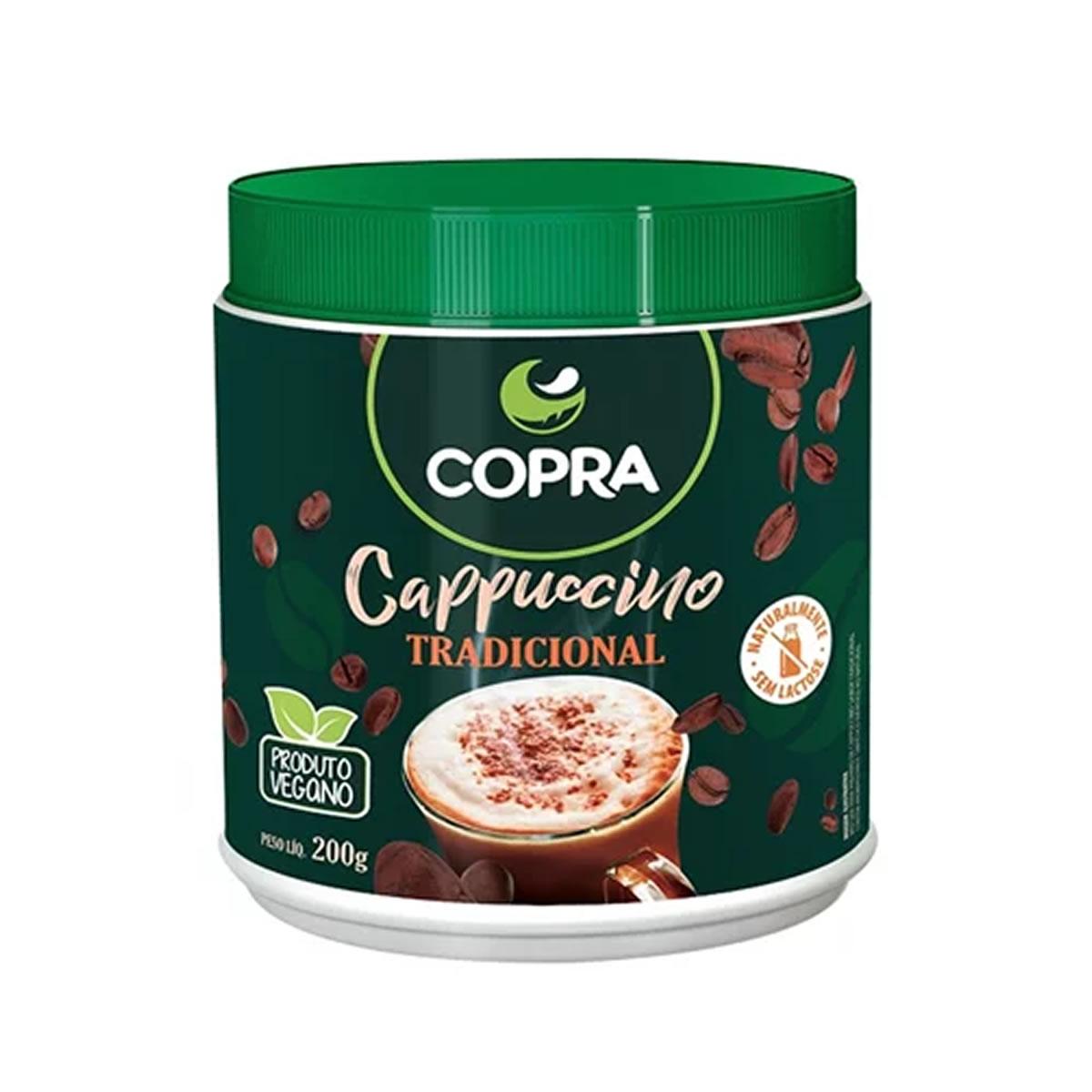 Cappuccino Tradicional 200g - Copra