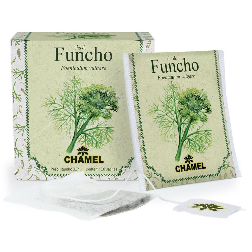 Chá de Funcho com 10 Sachês - Chamel