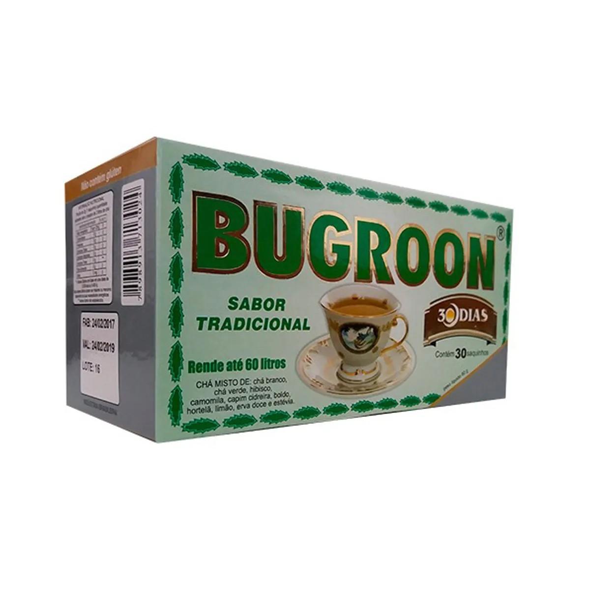 Chá Misto sabor Tradicional com 30 Sachês - Bugroon