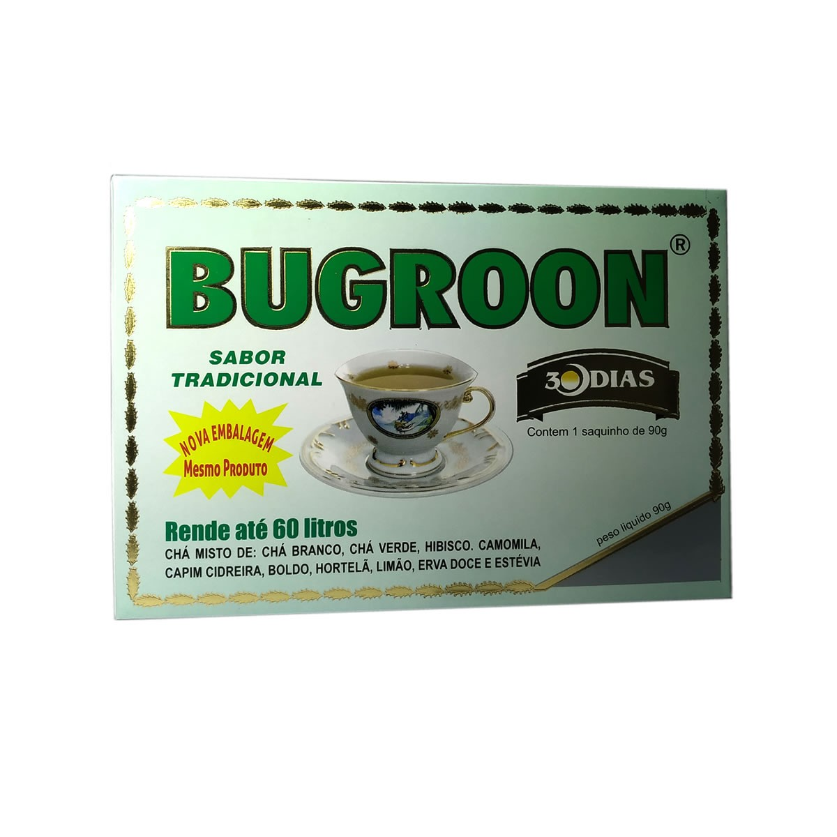 Chá Misto sabor Tradicional Saquinho de 90g - Bugroon