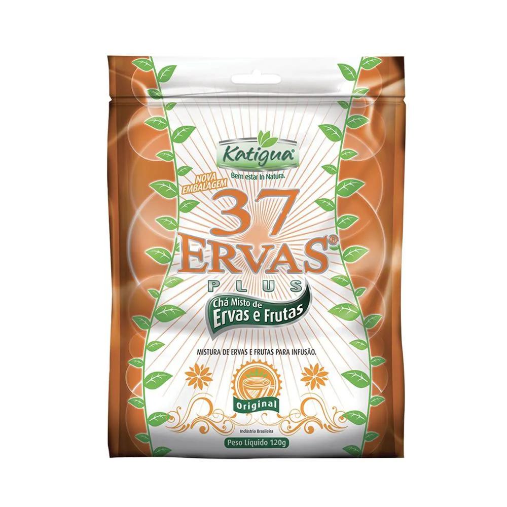 Chá Plus 37 Ervas 120g - Katiguá