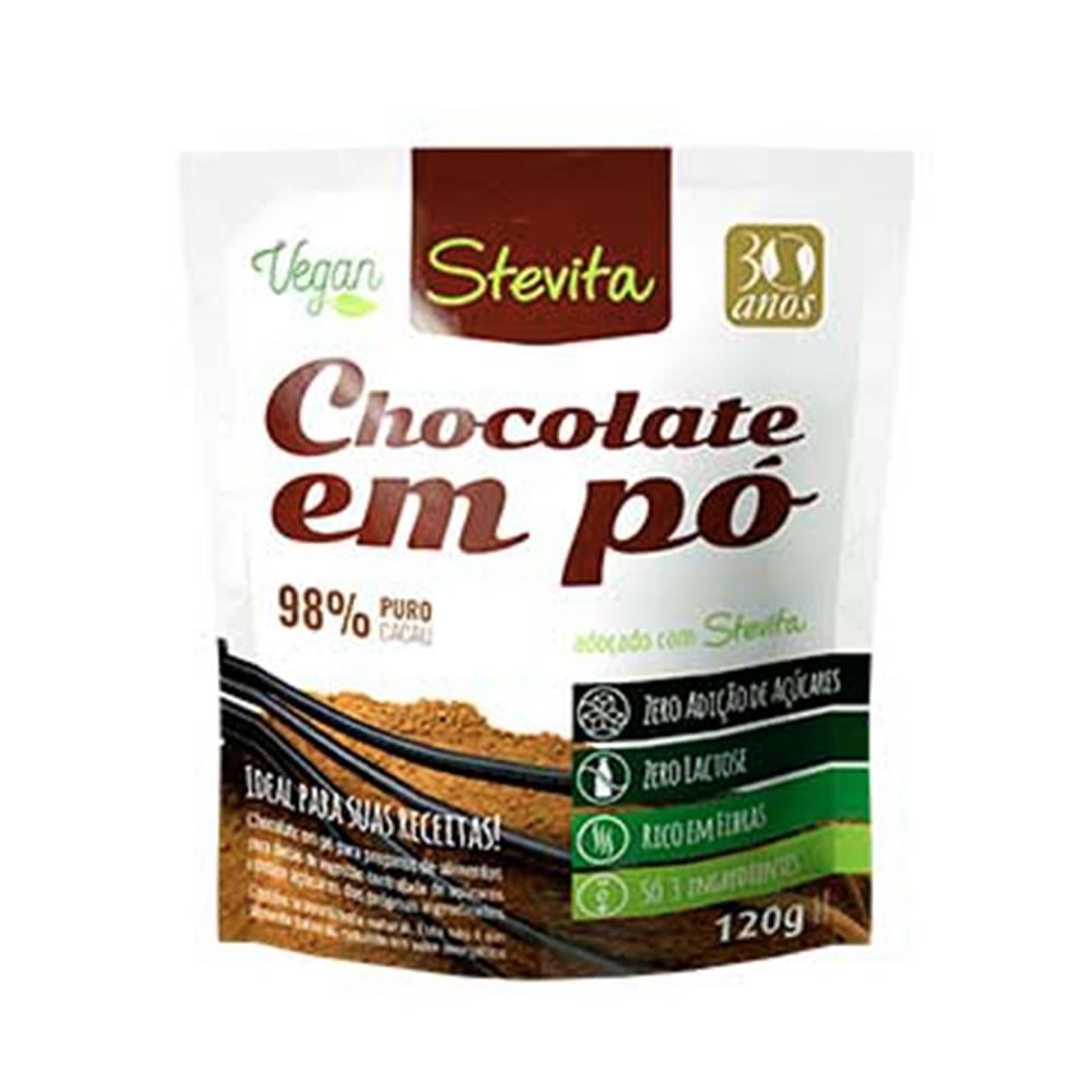 Chocolate em Pó Diet Puro Cacau 120g - Stevita