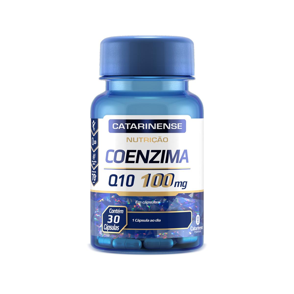 Coenzima Q10 100mg 30 Cápsulas- Catarinense