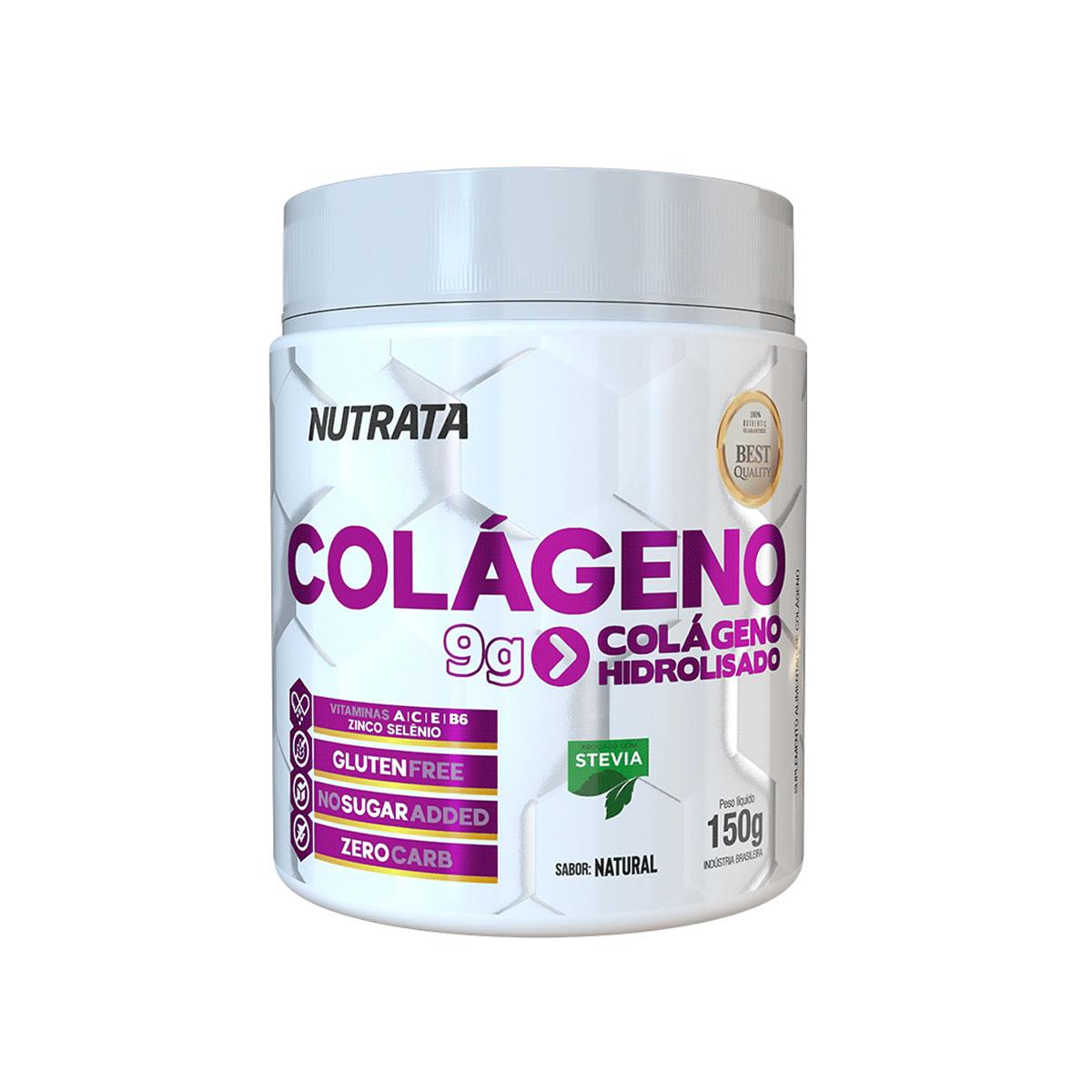 Colágeno Hidrolisado Sabor Natural 150g - Nutrata