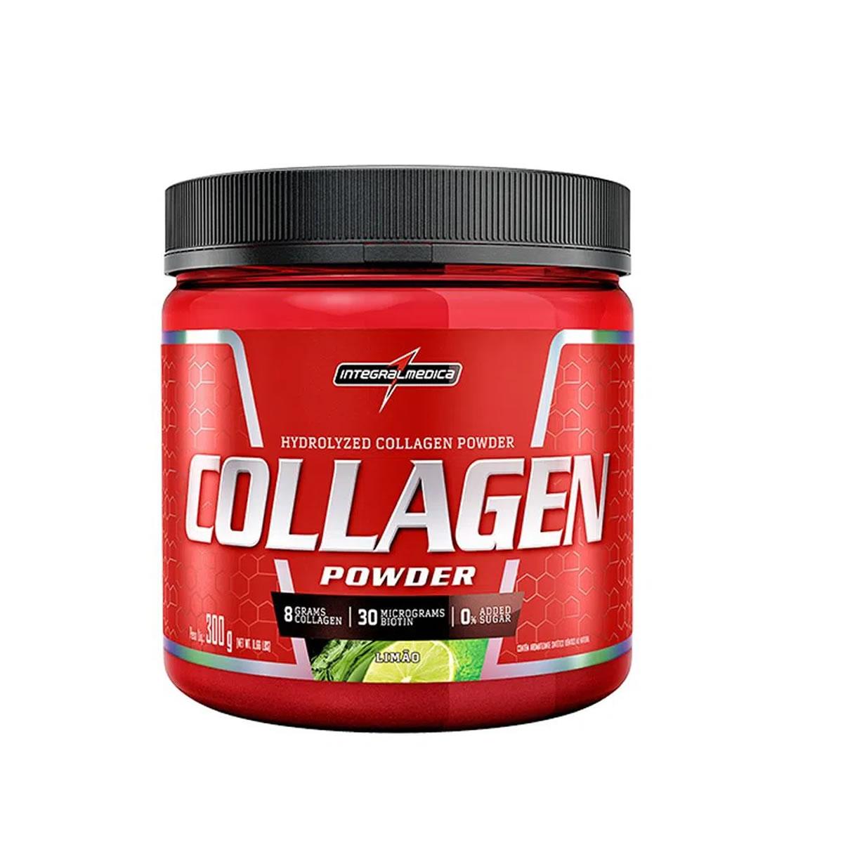 Collagen Powder sabor Limão 300g - Integralmedica