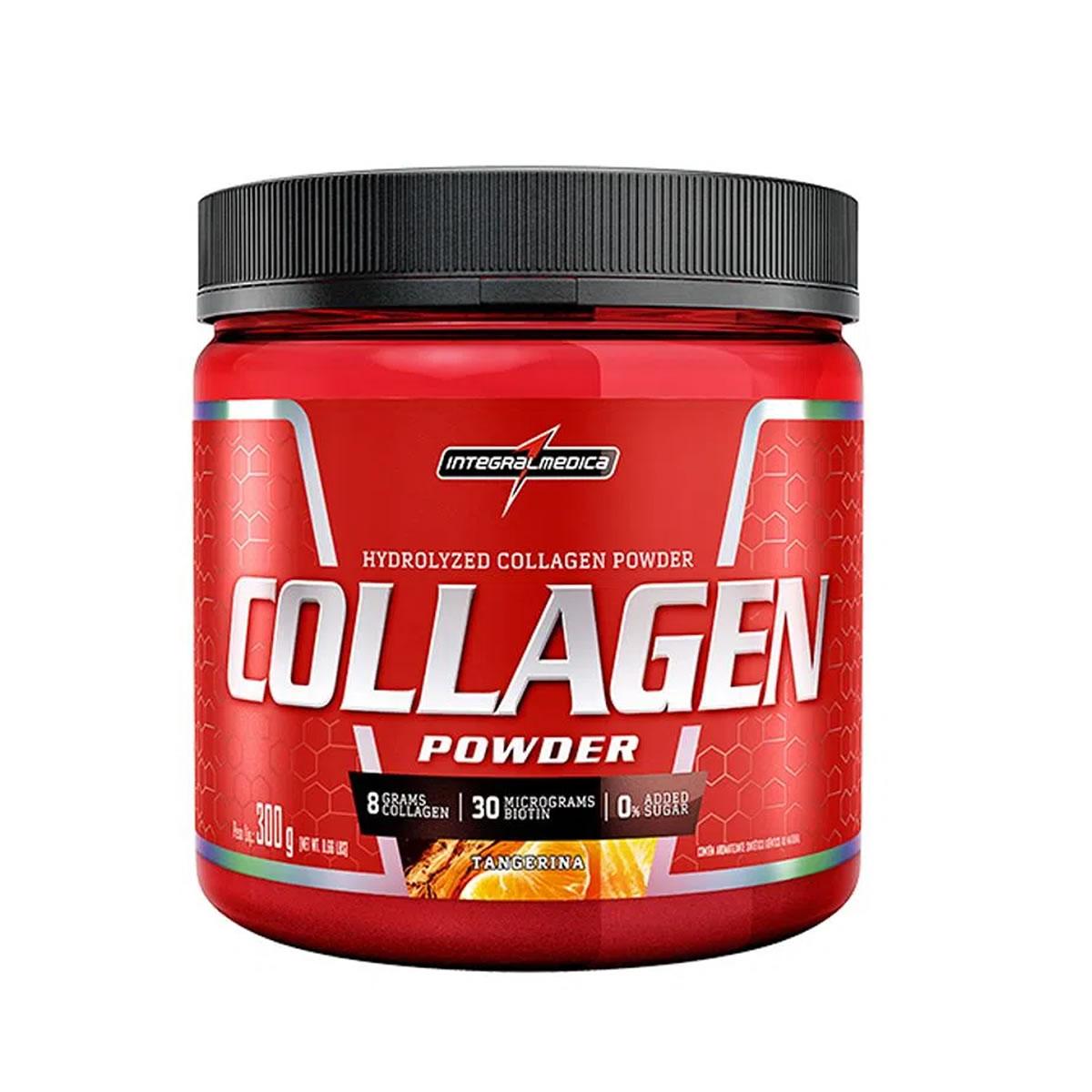 Collagen Powder sabor Tangerina 300g - Integralmedica