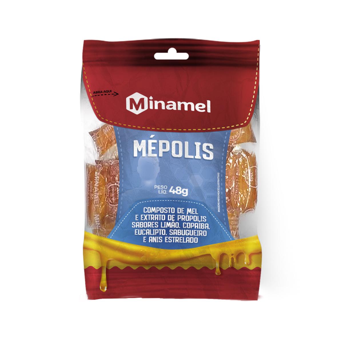 Composto de Mel e Extrato de Própolis Mépolis 48g - Minamel
