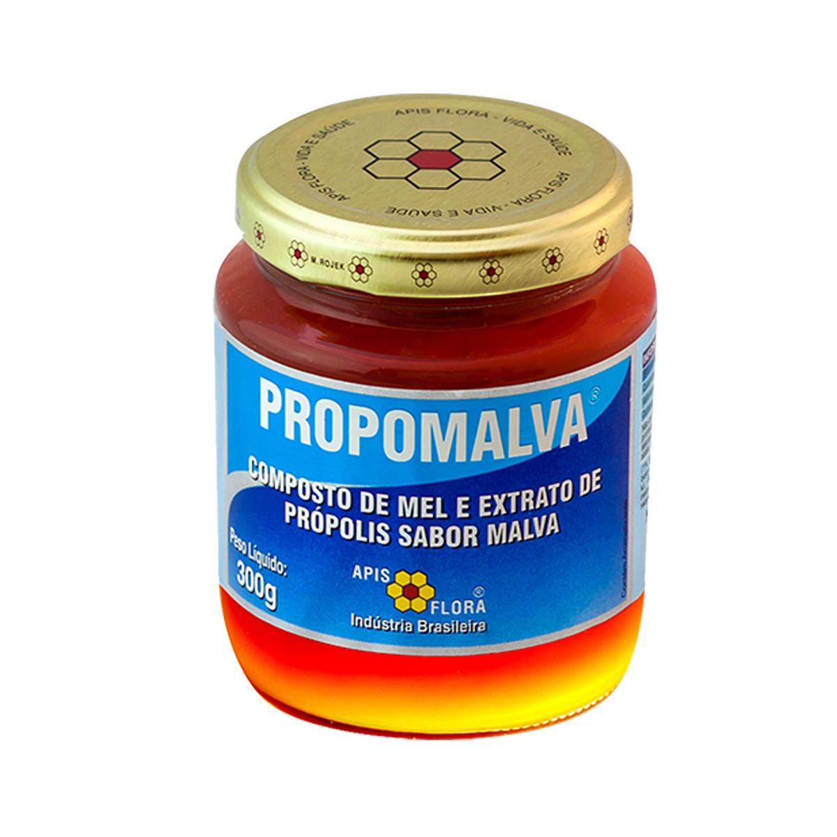 Composto de Mel e Extrato de Própolis Propomalva  300g - Apis Flora