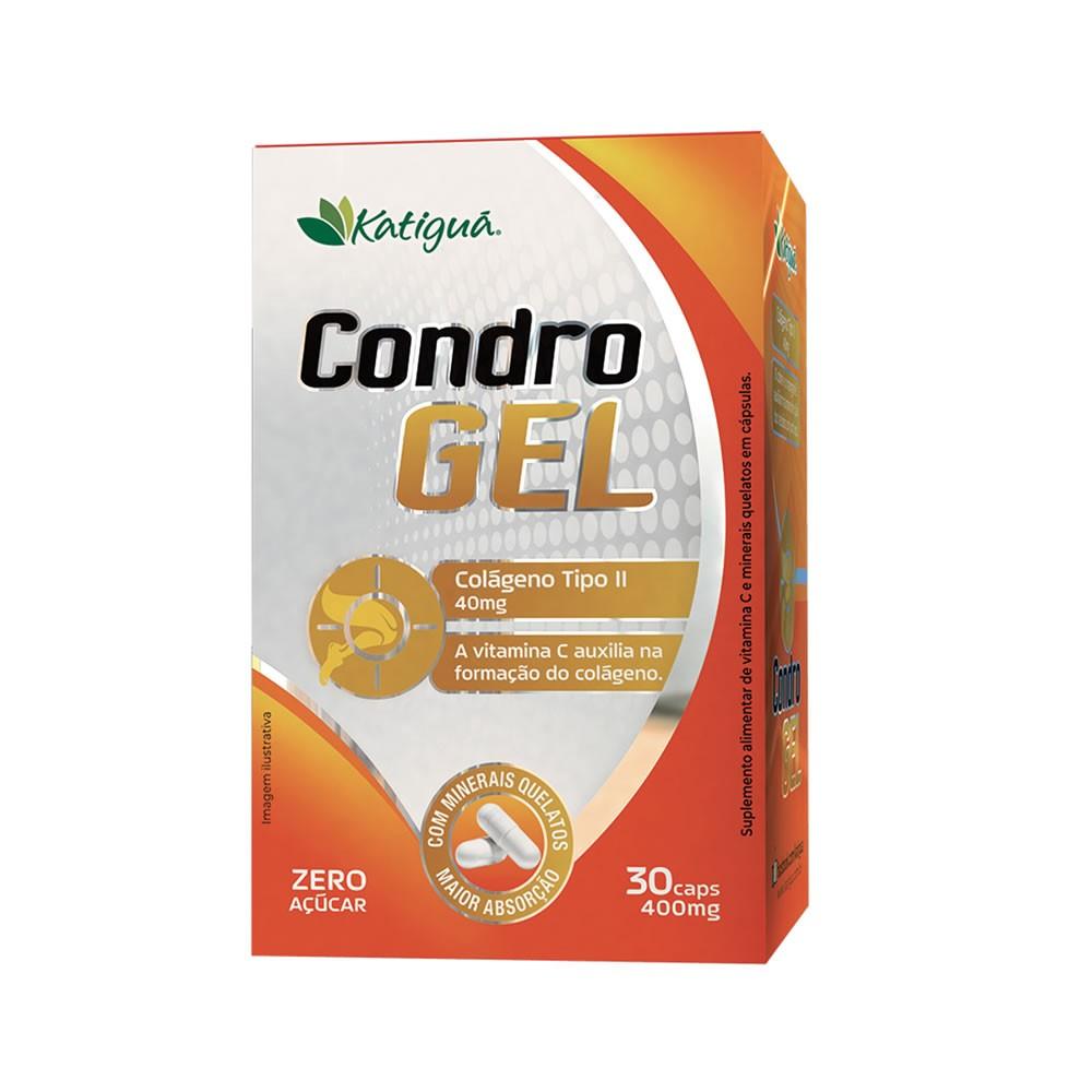 Condro Gel ( Colágeno tipo II + Vit C ) 400mg 30 cápsulas - Katiguá