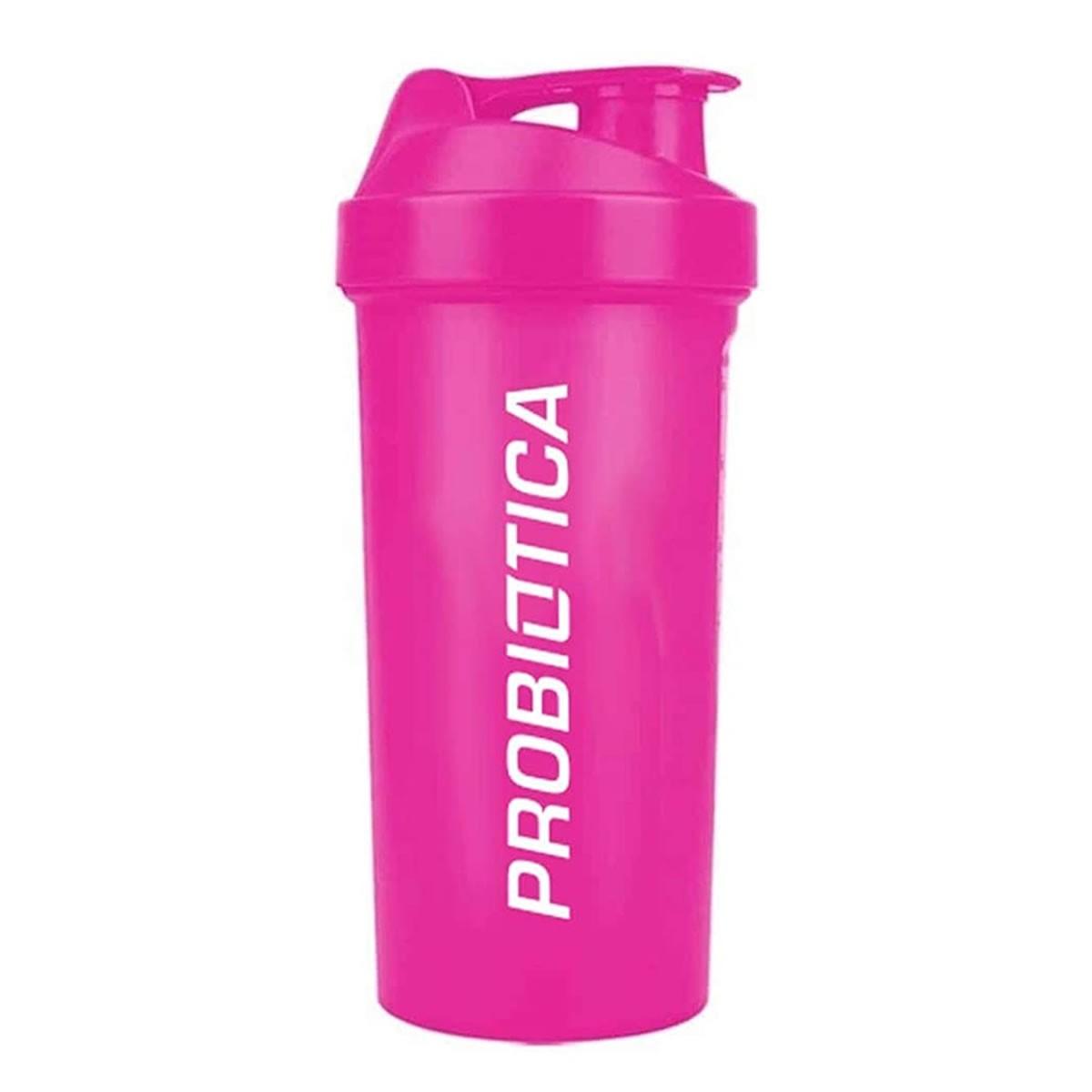 Coqueteleira Rosa 700ml - Probiotica