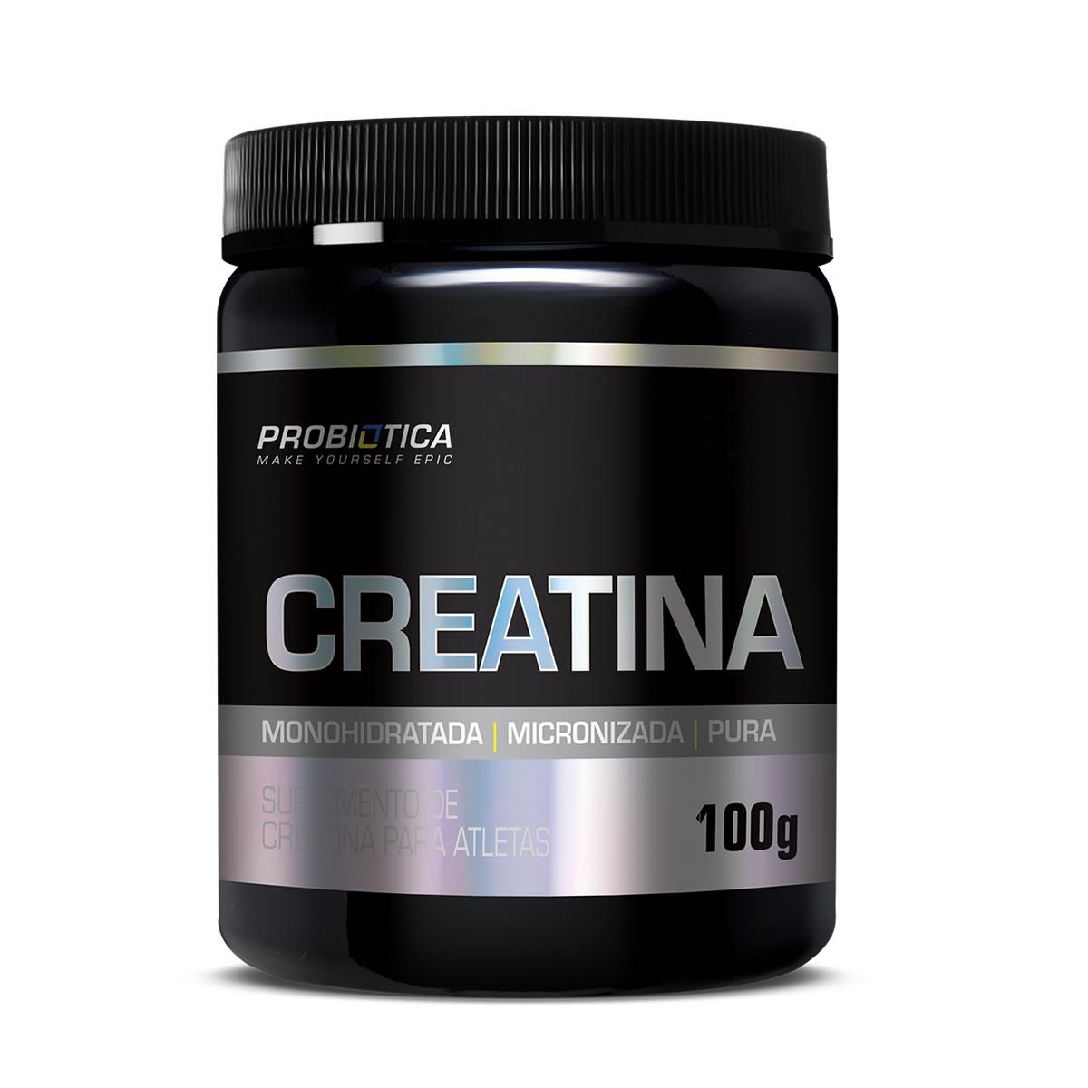 Creatina Pura em Pó 100g - Probiotica