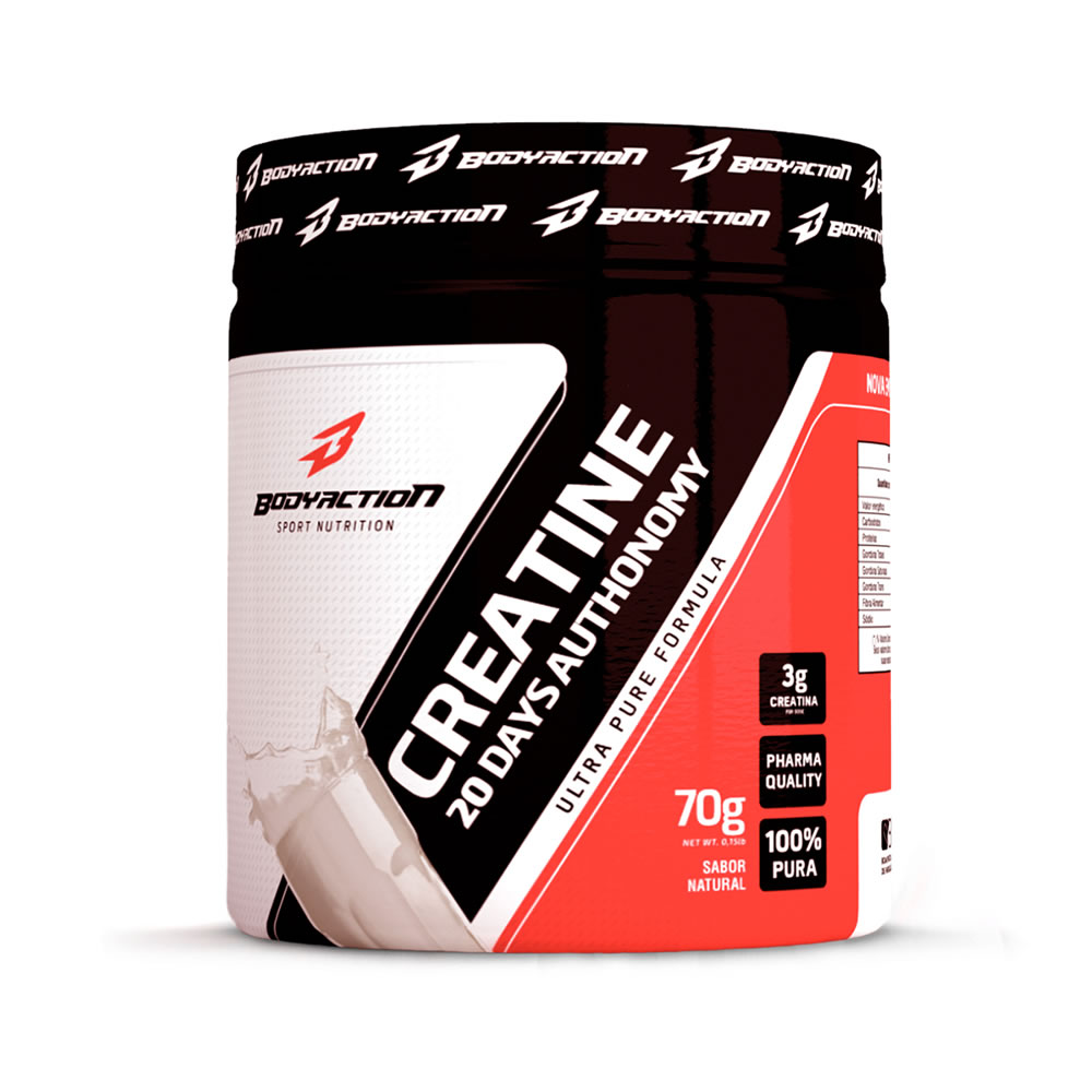 Creatine Monohydrate 70g - Bodyaction