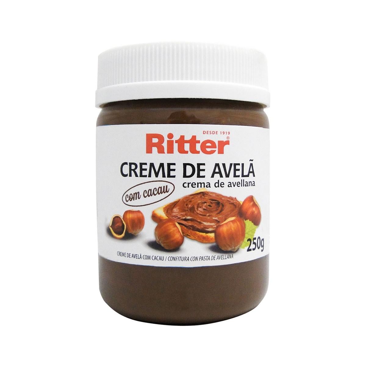 Creme de Avelã com Cacau 250g - Ritter