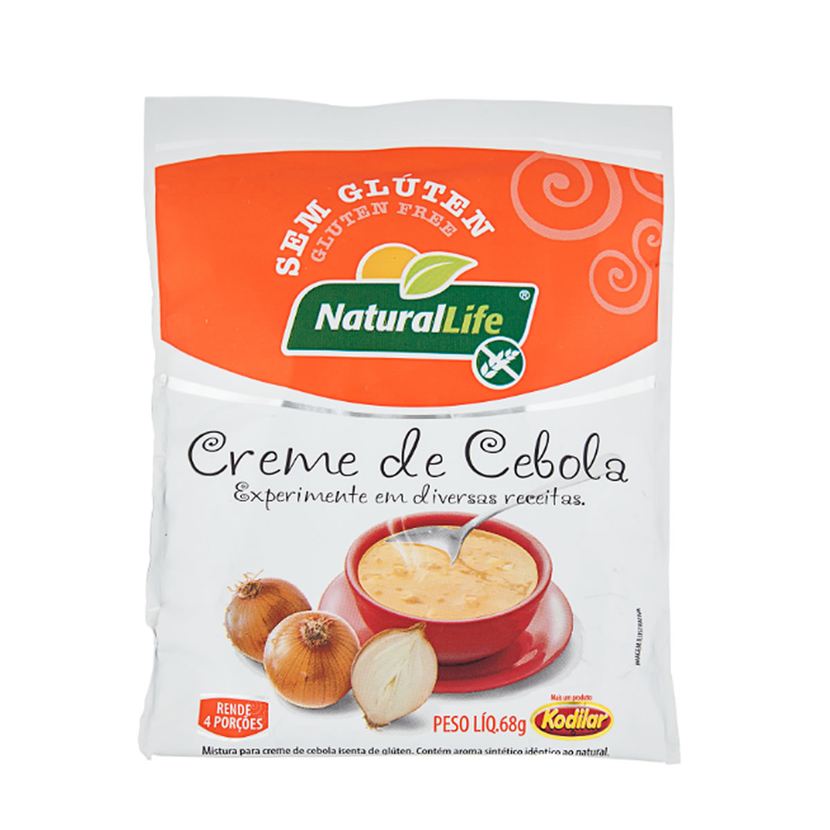 Creme de Cebola Sem Glúten 68g - NaturalLife