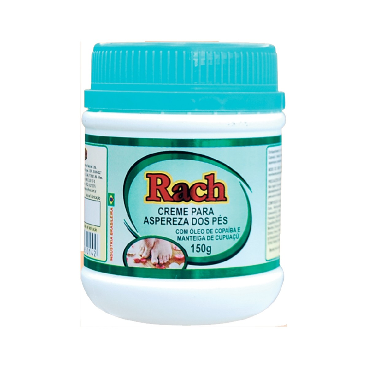 Creme Rach Aspereza dos Pés 150g - Poly Flora