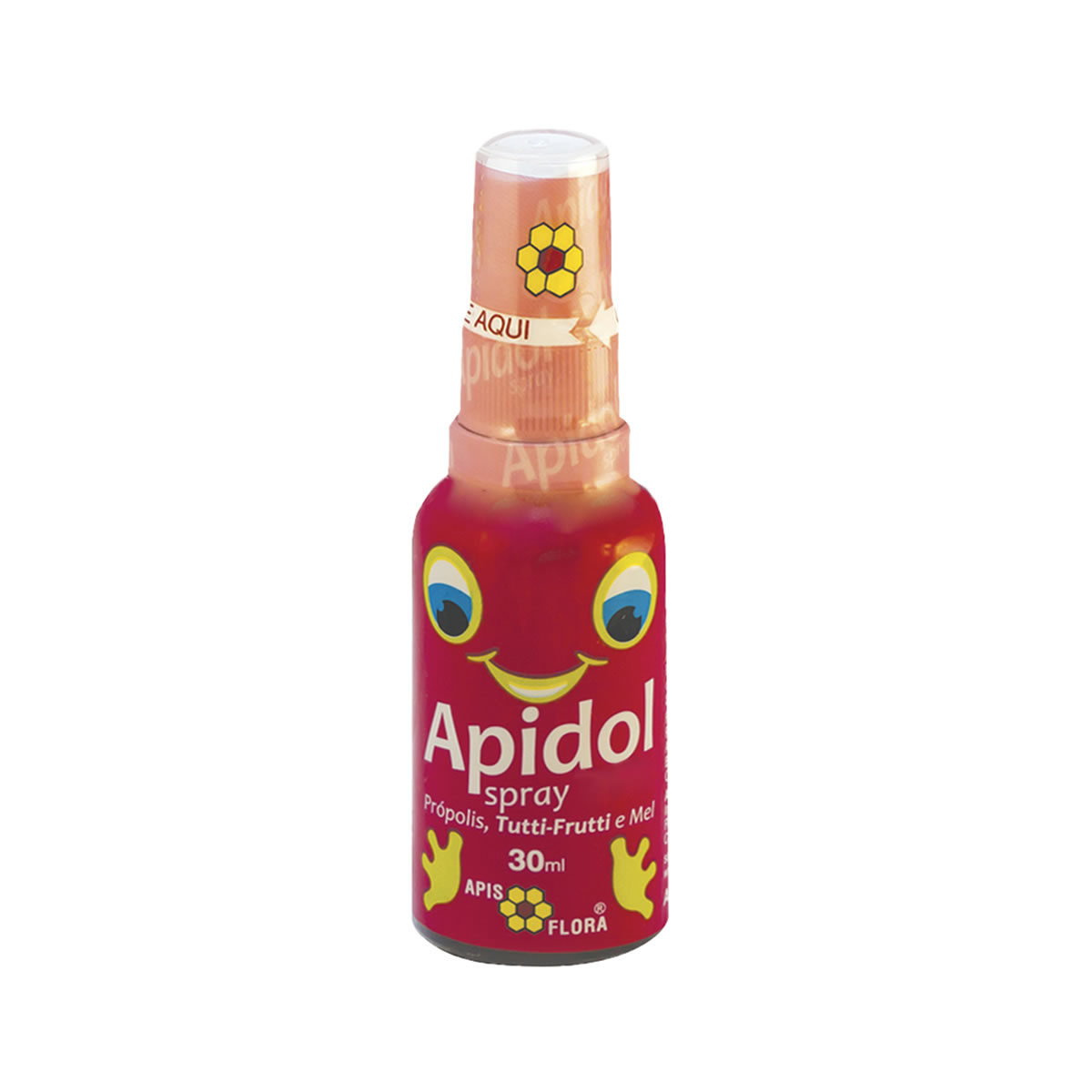 Extrato de Própolis Apidol Sabor Tutti-frutti e Mel 30ml - Apis Flora