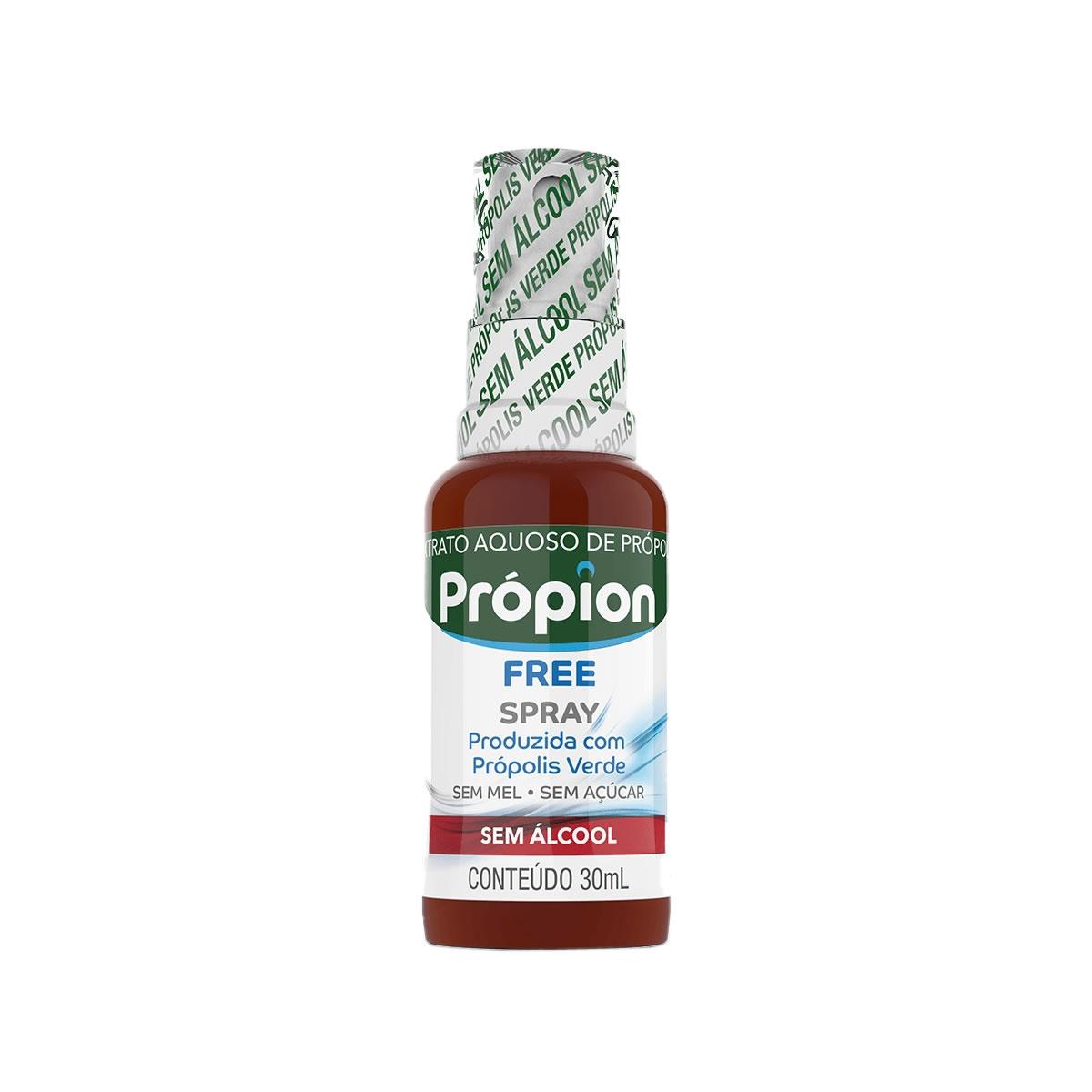 Extrato de Própolis Verde Aquoso Spray Sem açúcar 30ml - Baldoni
