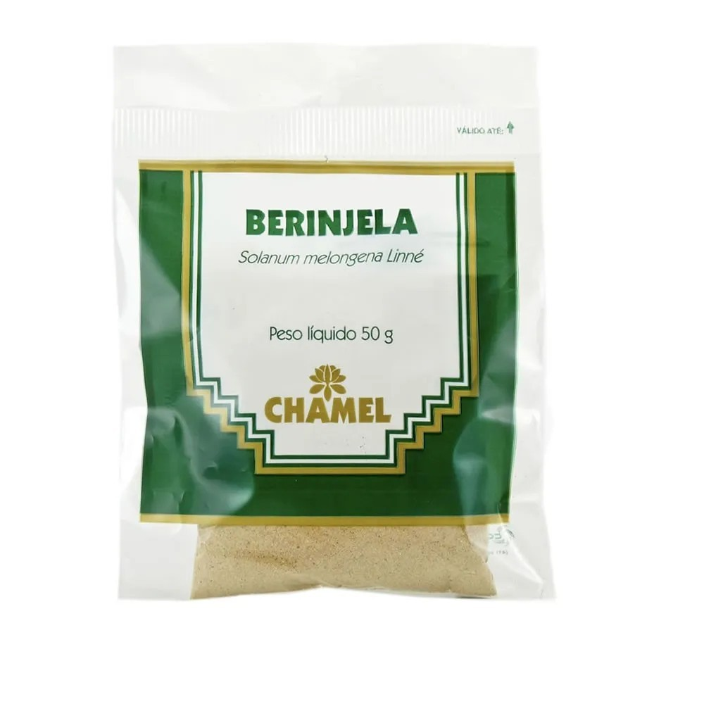 Farinha de Berinjela 50g - Chamel