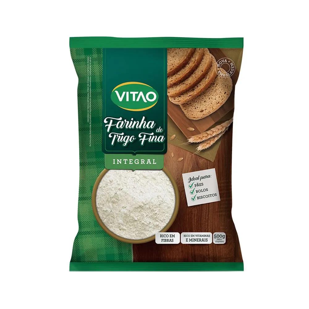 Farinha de Trigo Integral 500g - Vitao