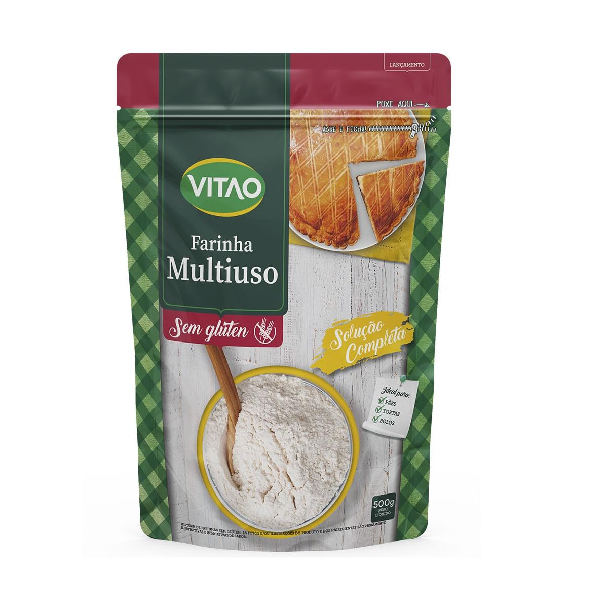 Farinha Mix Multiuso Sem Gluten 500g - Vitao