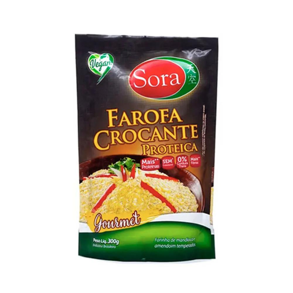 Farofa Crocante Proteica Gourmet  300g - Sora
