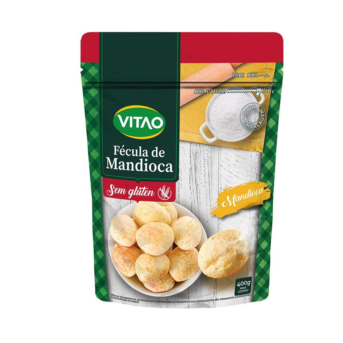 Fécula de Mandioca 400g - Vitao