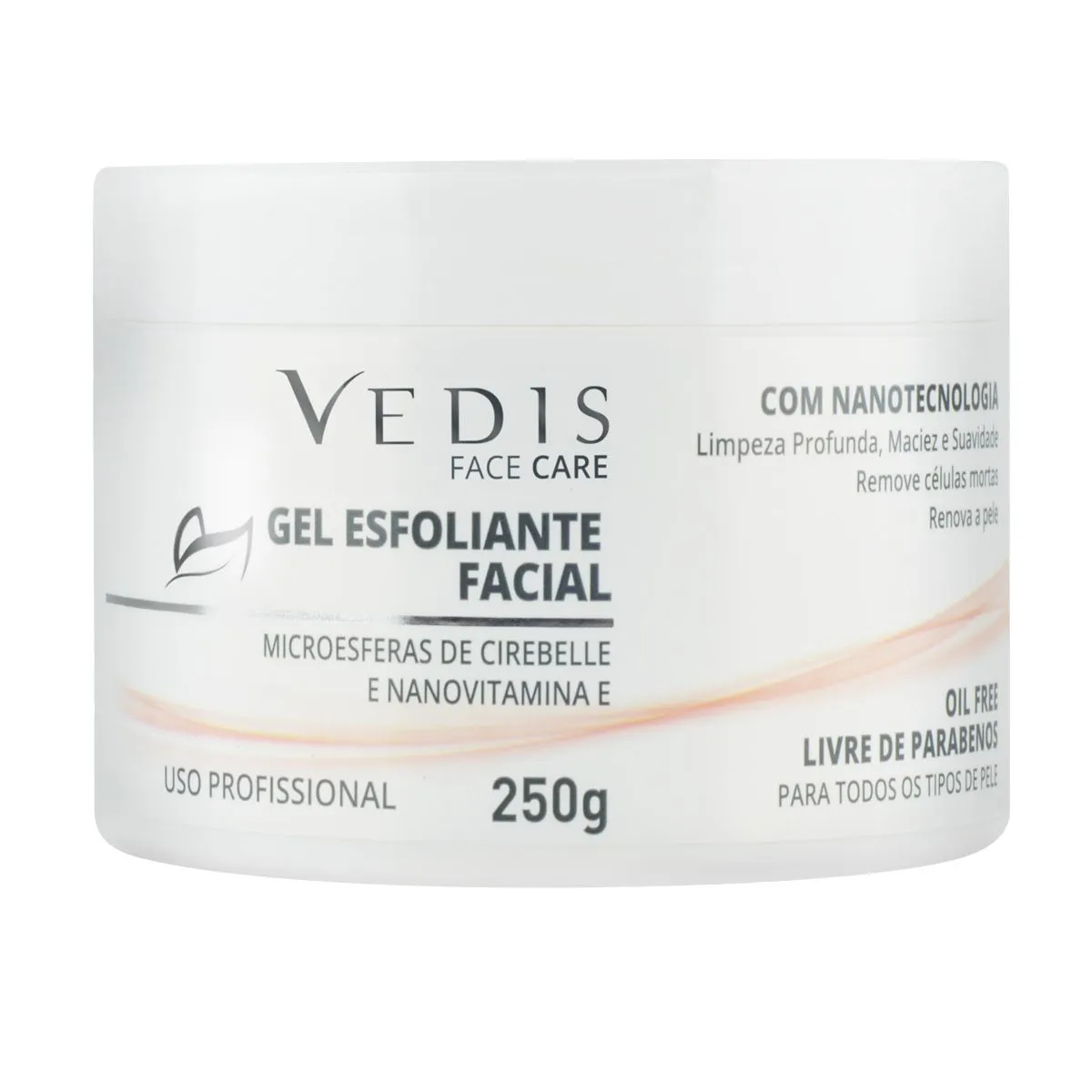 Gel Esfoliante Facial 250g - Vedis