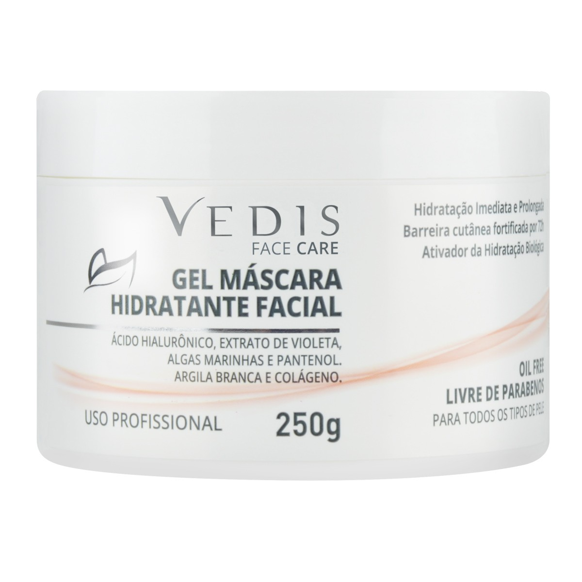 Gel Máscara Hidratante Facil 250g - Vedis