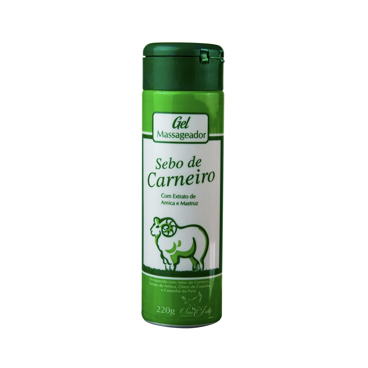 Gel Massageador Sebo de Carneiro 220g - San Jully