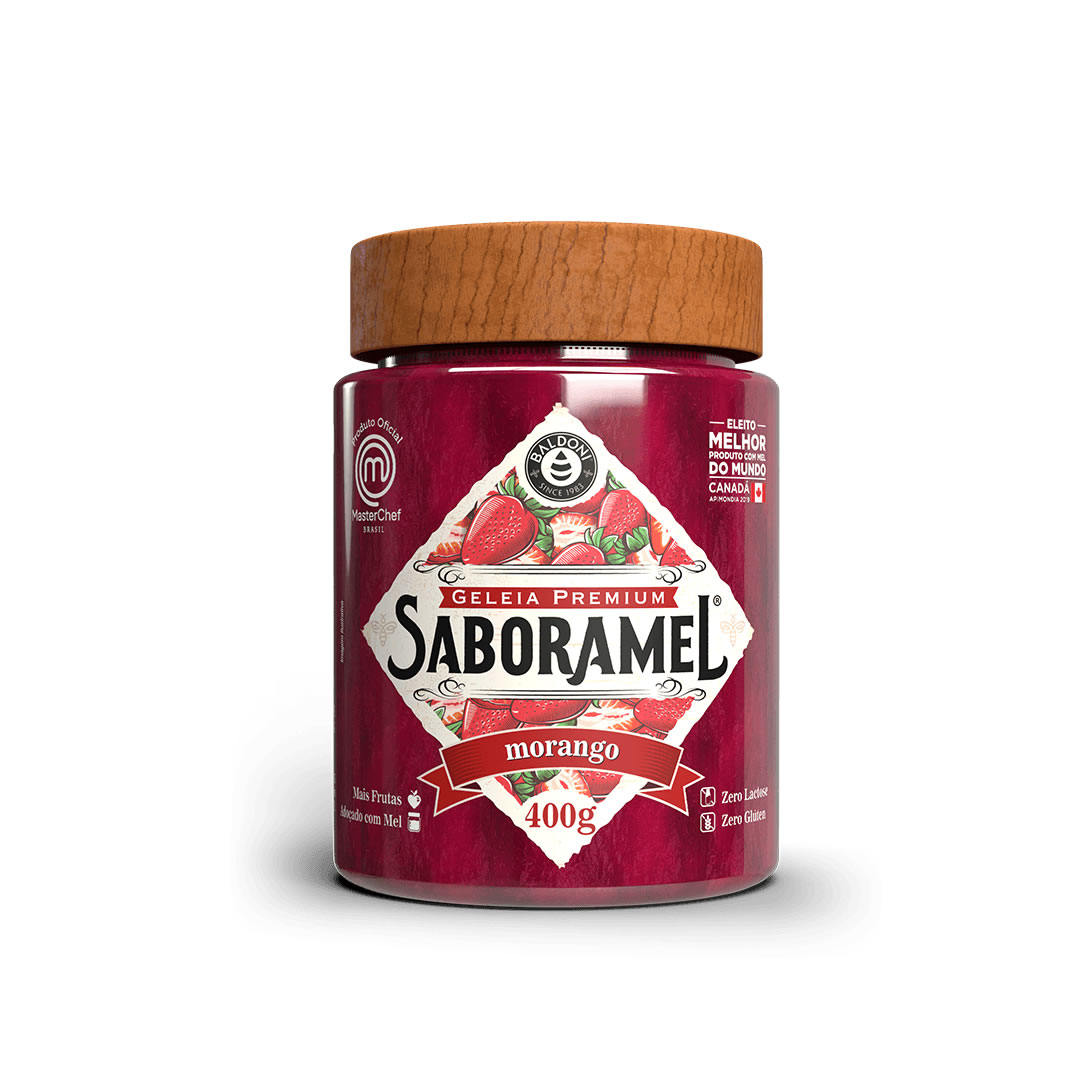 Geleia de Morango Saboramel 400g - Baldoni
