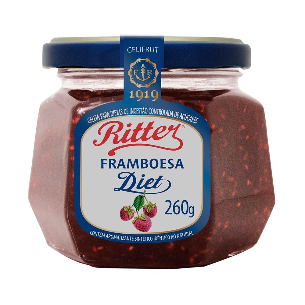 Geleia Diet de Framboesa 260g - Ritter