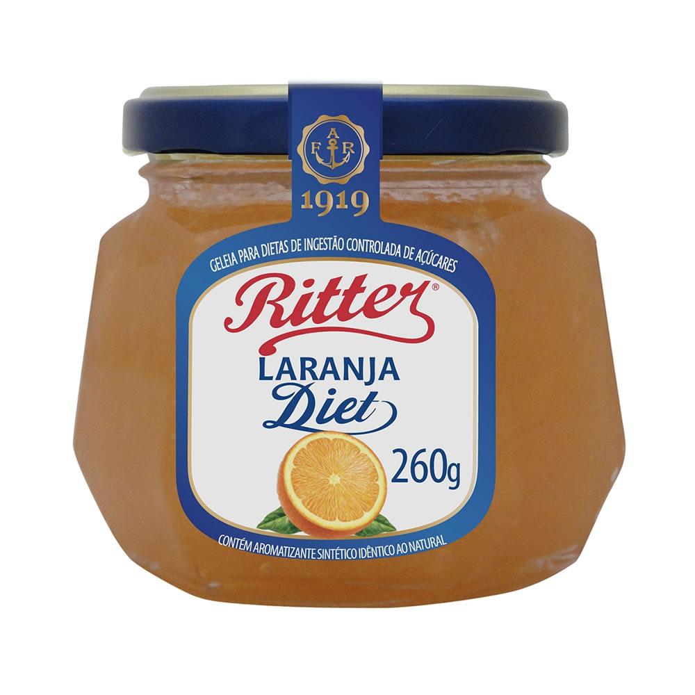 Geleia Diet de Laranja 260g - Ritter