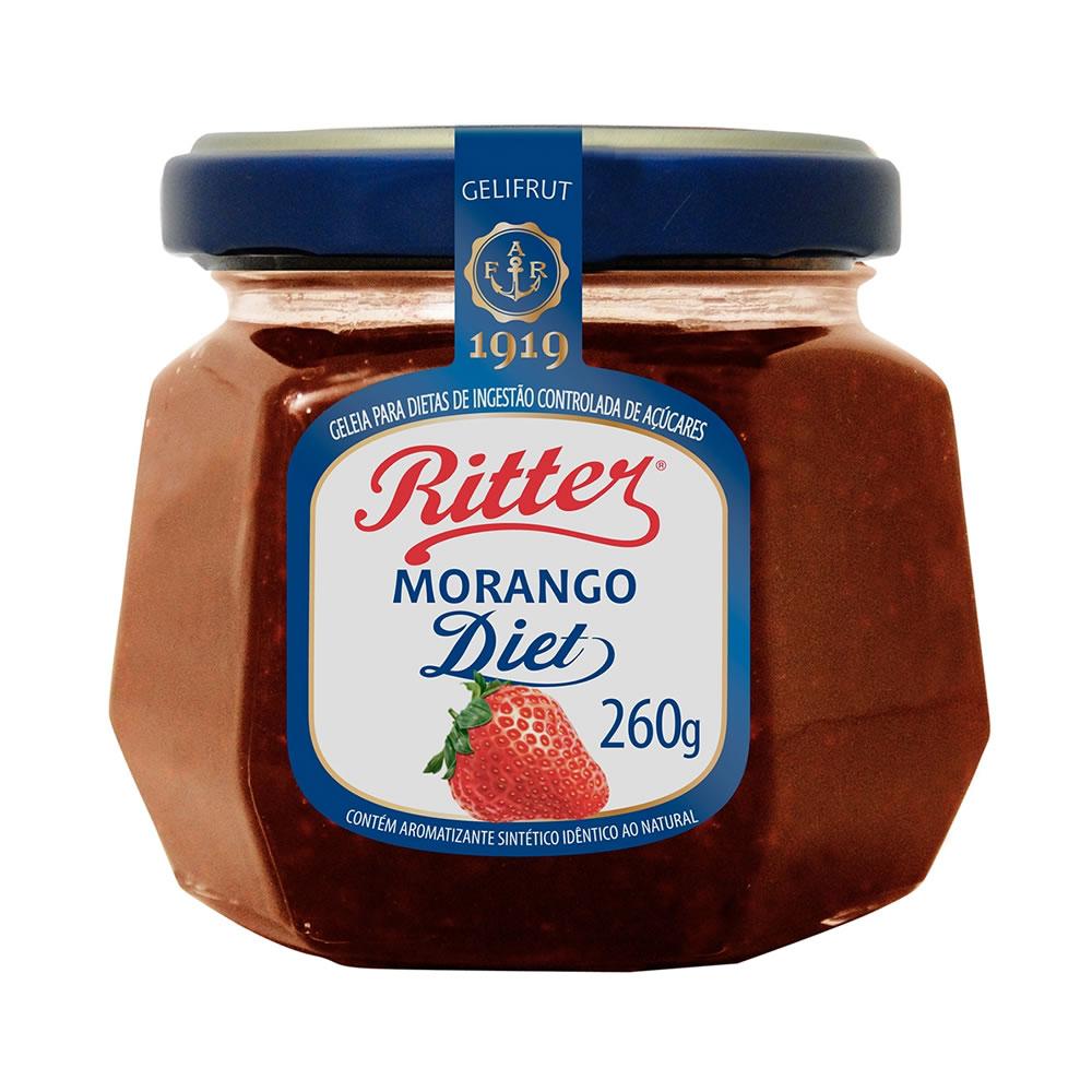 Geleia Diet de Morango 260g - Ritter