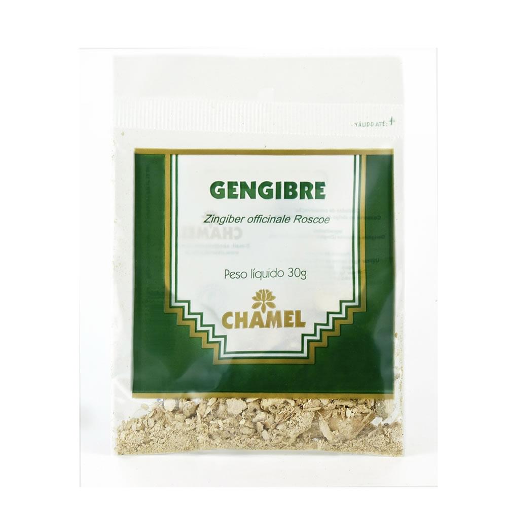 Gengibre Raiz 30g - Chamel