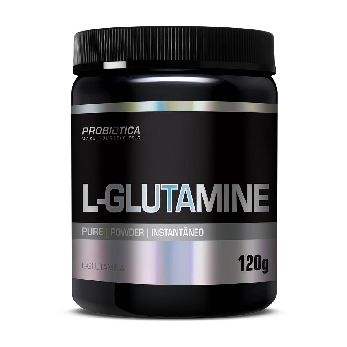 Glutamina Pura em Pó 120g - Probiotica