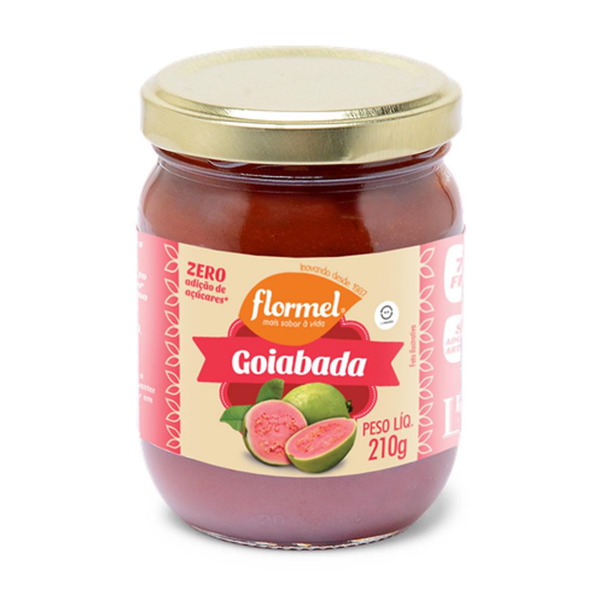 Goiabada Cremosa Zero 210g - Flormel