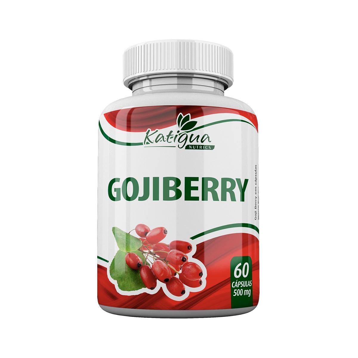 Gojiberry 500mg 60 Cápsulas - Katiguá