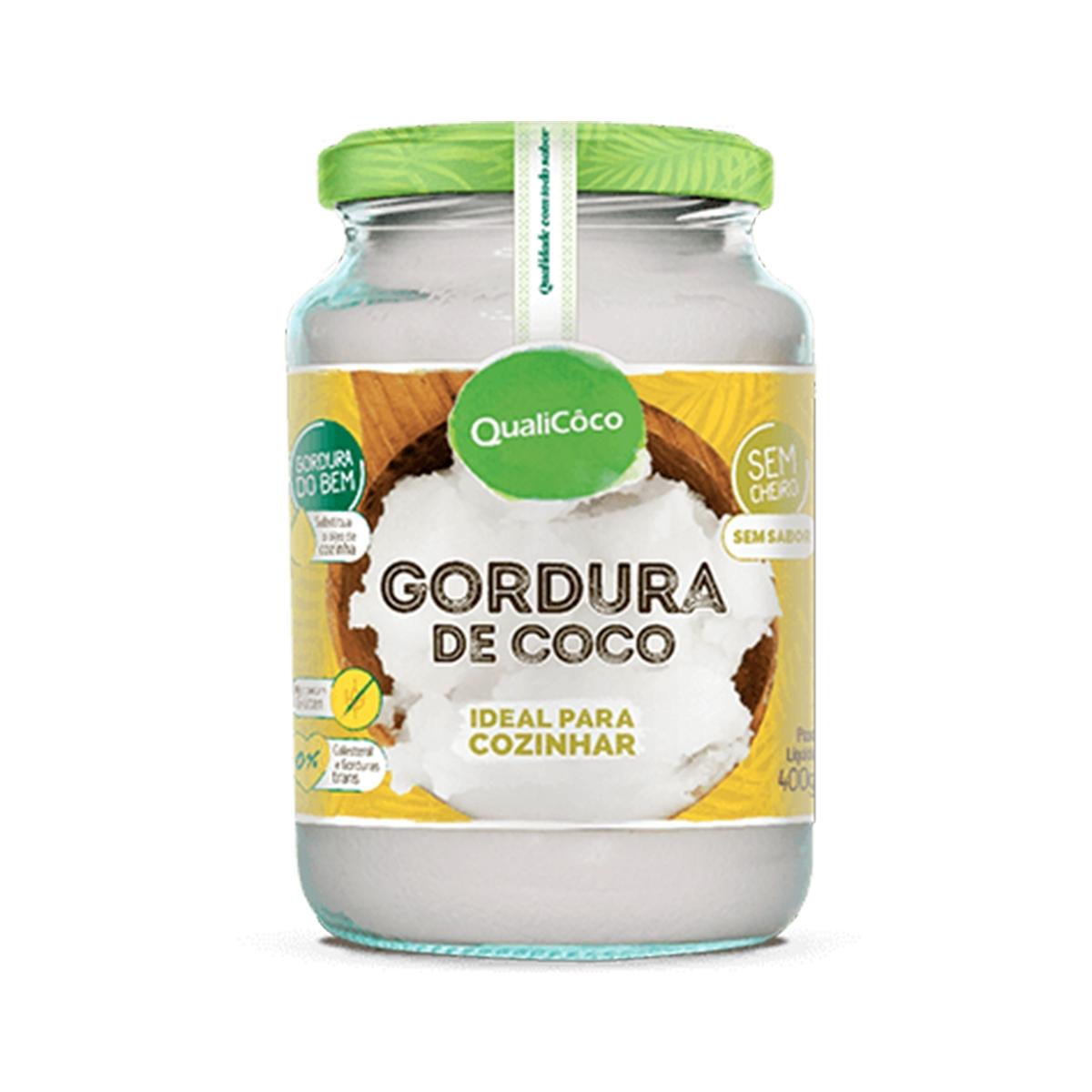 Gordura de Coco 400g - Qualicoco